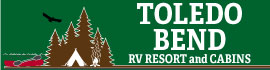 logo for Toledo Bend RV Resort and Cabins