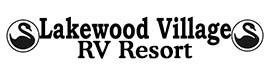 logo for Lakewood Village RV Resort