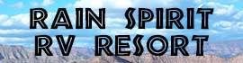 logo for Rain Spirit RV Resort