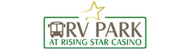 logo for Rising Star Casino Resort & RV Park
