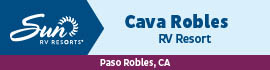 logo for Cava Robles RV Resort