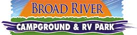 logo for Broad River Campground & RV Park