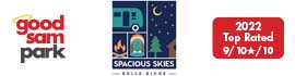 logo for Belle Ridge Campground