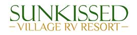 logo for Sunkissed Village RV Resort