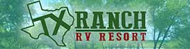 logo for Texas Ranch RV Resort