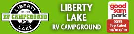 logo for Liberty Lake RV Campground