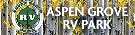 logo for Aspen Grove RV Park