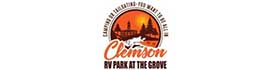 logo for Clemson RV Park at the Grove