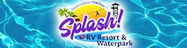 logo for Splash! RV Resort & Waterpark