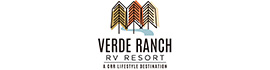 logo for Verde Ranch RV Resort