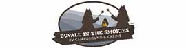 logo for Duvall in the Smokies RV Campground & Cabins