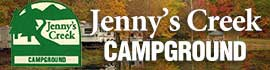 logo for Jenny's Creek Family Campground