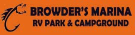 logo for Browder's Marina RV Park & Campground