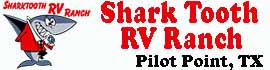 logo for Shark Tooth RV Ranch