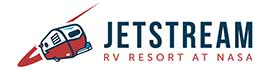 logo for Jetstream RV Resort at NASA