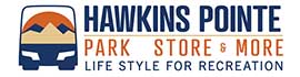 logo for Hawkins Pointe Park, Store & More
