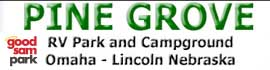 logo for Pine Grove RV Park
