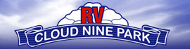logo for Cloud Nine RV Park