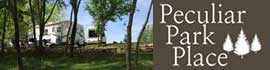 logo for Peculiar Park Place