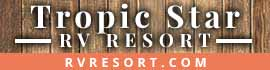 logo for Tropic Star RV Resort