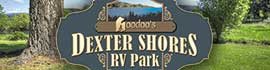 logo for Dexter Shores RV Park