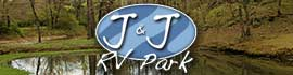 logo for J & J RV Park