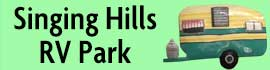 logo for Singing Hills RV Park