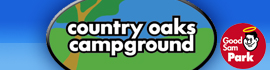 logo for Country Oaks Campground