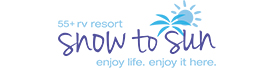 logo for Snow To Sun RV Resort