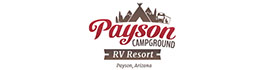 logo for Payson Campground and RV Resort