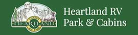 logo for Heartland RV Park & Cabins