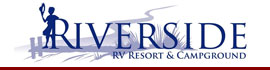 logo for Riverside RV Park