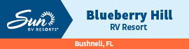 logo for Blueberry Hill RV Resort