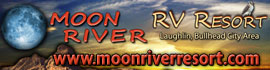 logo for Moon River RV Resort