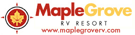 logo for Maple Grove RV Resort