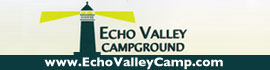logo for Echo Valley Campground