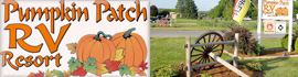 logo for Pumpkin Patch RV Resort