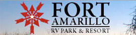 logo for Fort Amarillo RV Resort