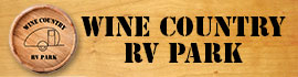 logo for Wine Country RV Park