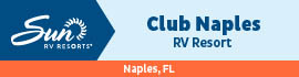 logo for Club Naples RV Resort