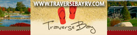 logo for Traverse Bay RV Resort