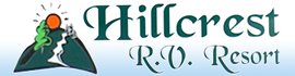 logo for Hillcrest RV Resort