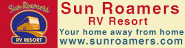 logo for Sun Roamers RV Resort
