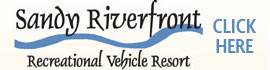 logo for Sandy Riverfront RV Resort