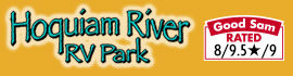 logo for Hoquiam River RV Park