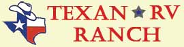 logo for Texan RV Ranch