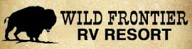 logo for Wild Frontier RV Resort