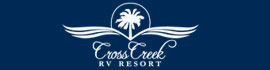 logo for Cross Creek RV Resort