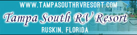 logo for Tampa South RV Resort