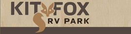 logo for Kit Fox RV Park